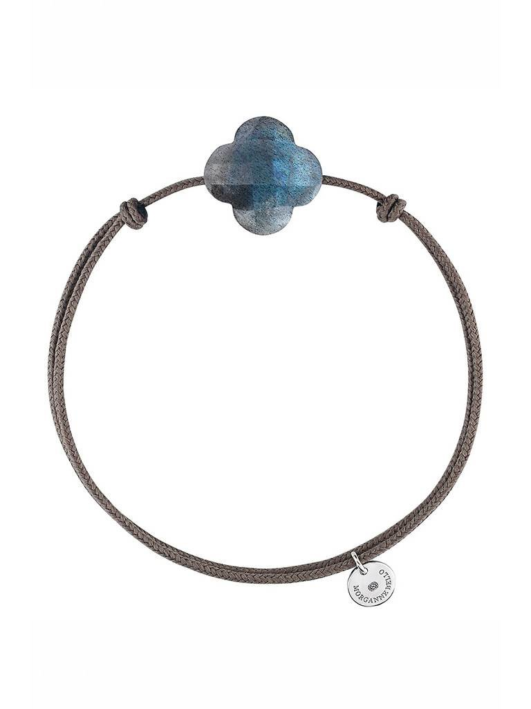 Morganne Bello Morganne Bello cord bracelet with labradorite