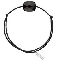 Morganne Bello Morganne Bello cord bracelet with onyx black