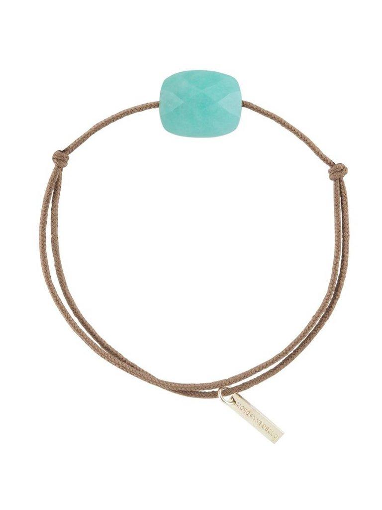 Morganne Bello Morganne Bello Schnur Armband Amazonit