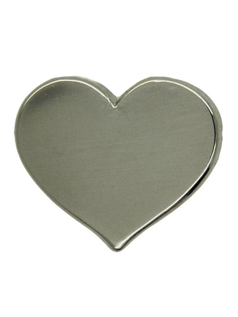 Godert.Me Godert.me Mini heart pin silver