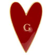 Godert.Me Godert.me Heart pin red