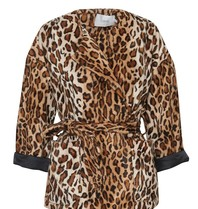 STAND Aria jacket leopard