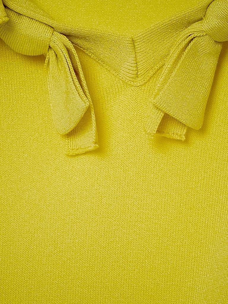 Boutique Moschino oben mit Schleife gelb