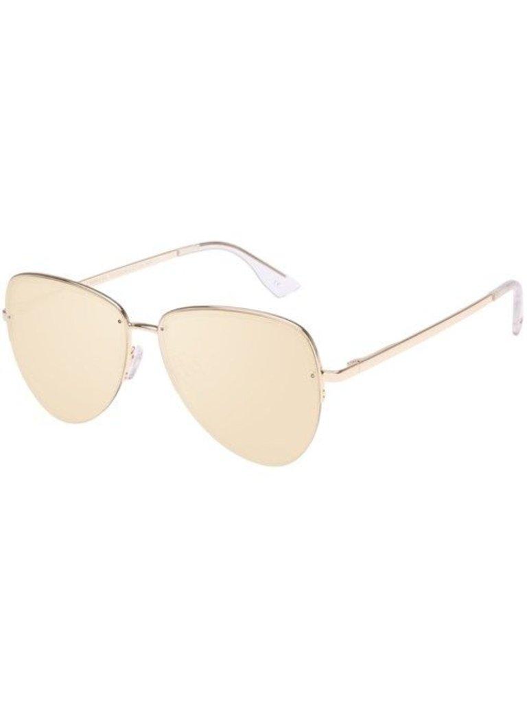 Le Specs Luxe Le Specs Luxe Empress zonnebril goud
