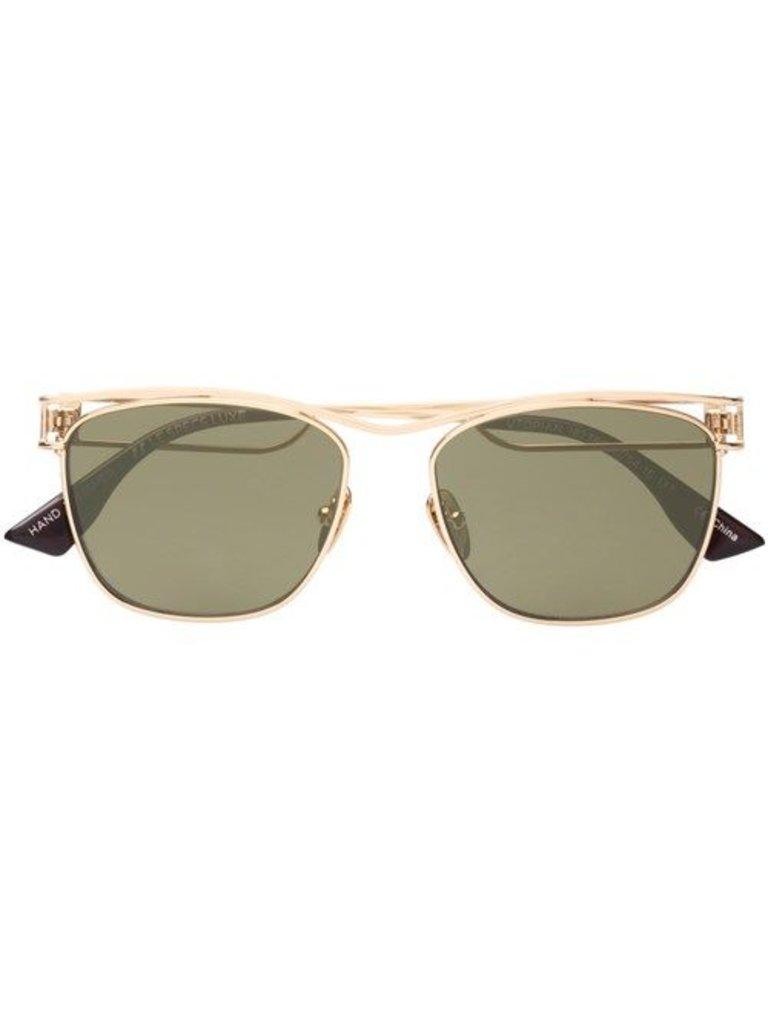 Le Specs Sonnenbrille Luxus utopischen Gold
