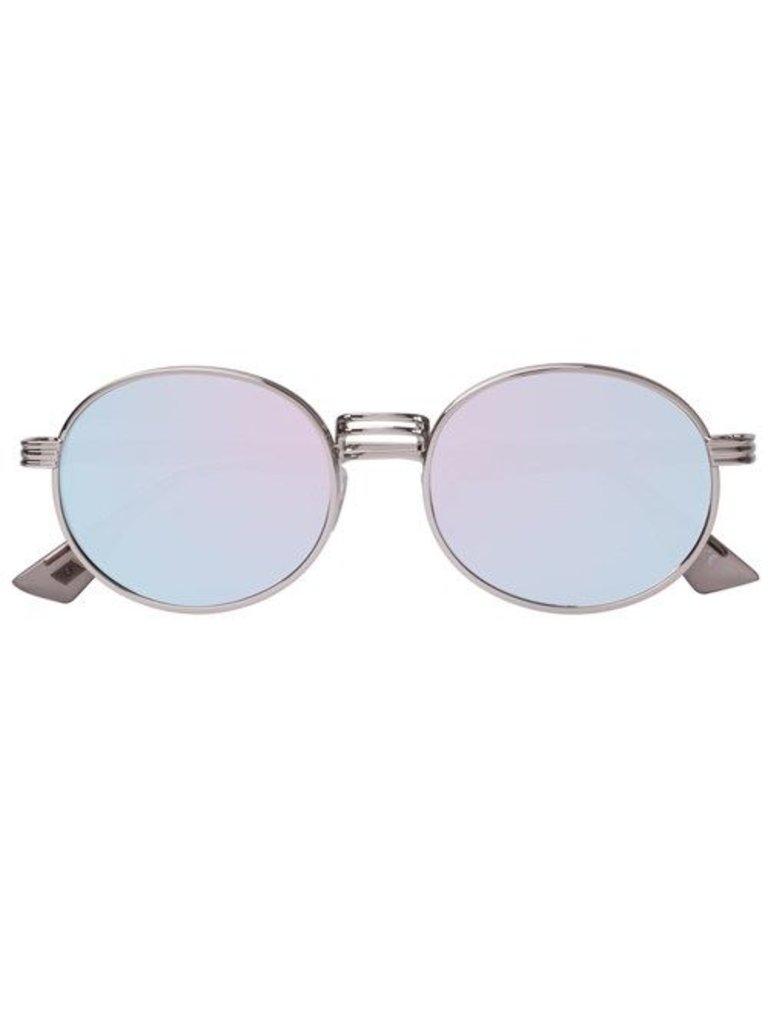 Le Specs Luxe Le Specs Luxury Unvorhersehbare Sonnenbrille Platin