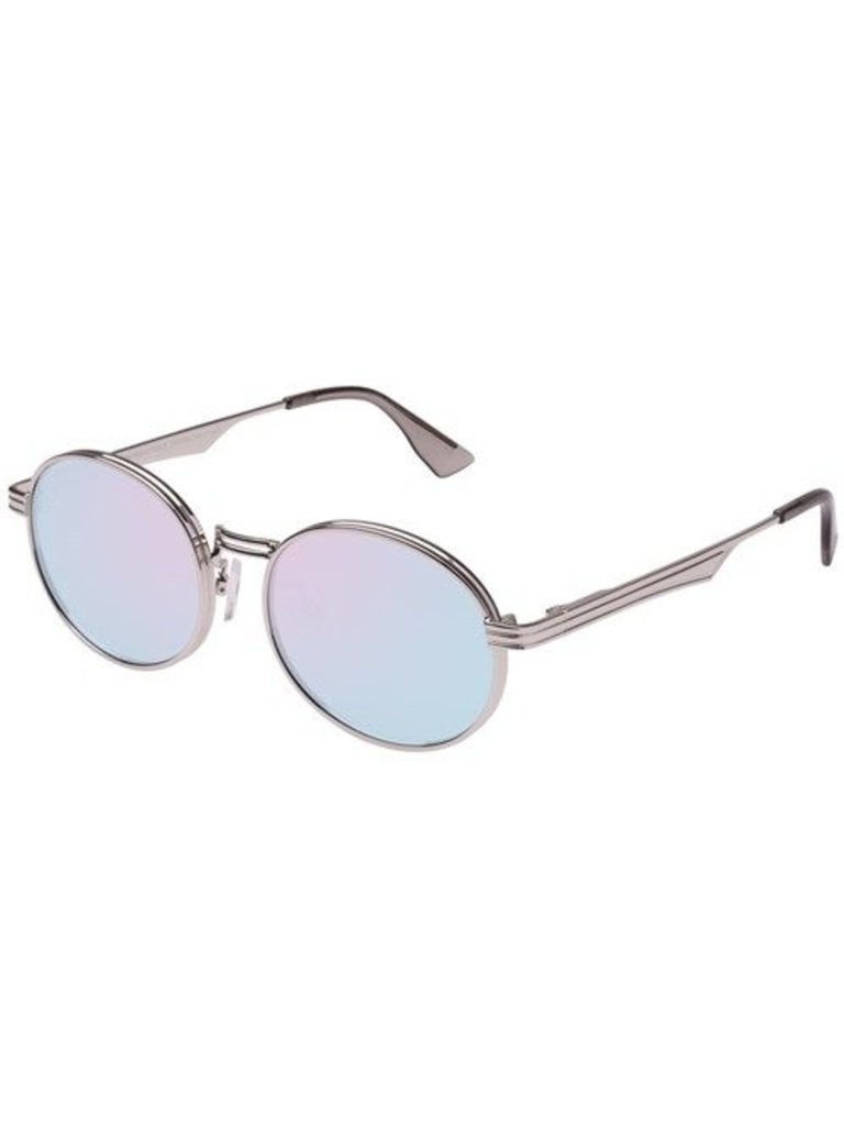 Le Specs Luxury Unvorhersehbare Sonnenbrille Platin