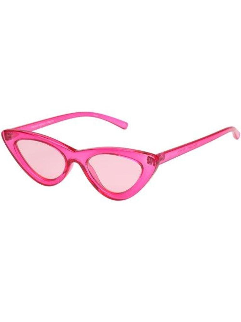 Le Specs X Adam Selman Le Specs x Adam Selman The Last Lolita zonnebril roze