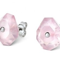 Morganne Bello Morganne Bello earrings powder pink Quartz