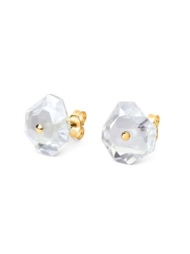 Morganne Bello Morganne Bello earrings blue lune Quartz