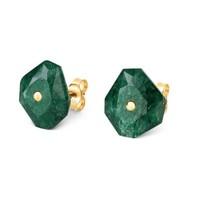 Morganne Bello Morganne Bello earrings green Quartz