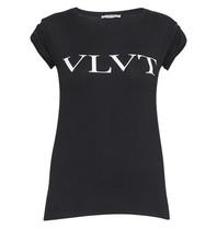 VLVT T-Shirt mit Aufdruck schwarz und weiß