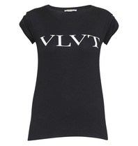 VLVT VLVT T-Shirt mit Aufdruck schwarz und weiß
