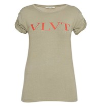VLVT VLVT T-Shirt mit Druck grün rot