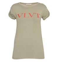 VLVT VLVT t-shirt with print green red