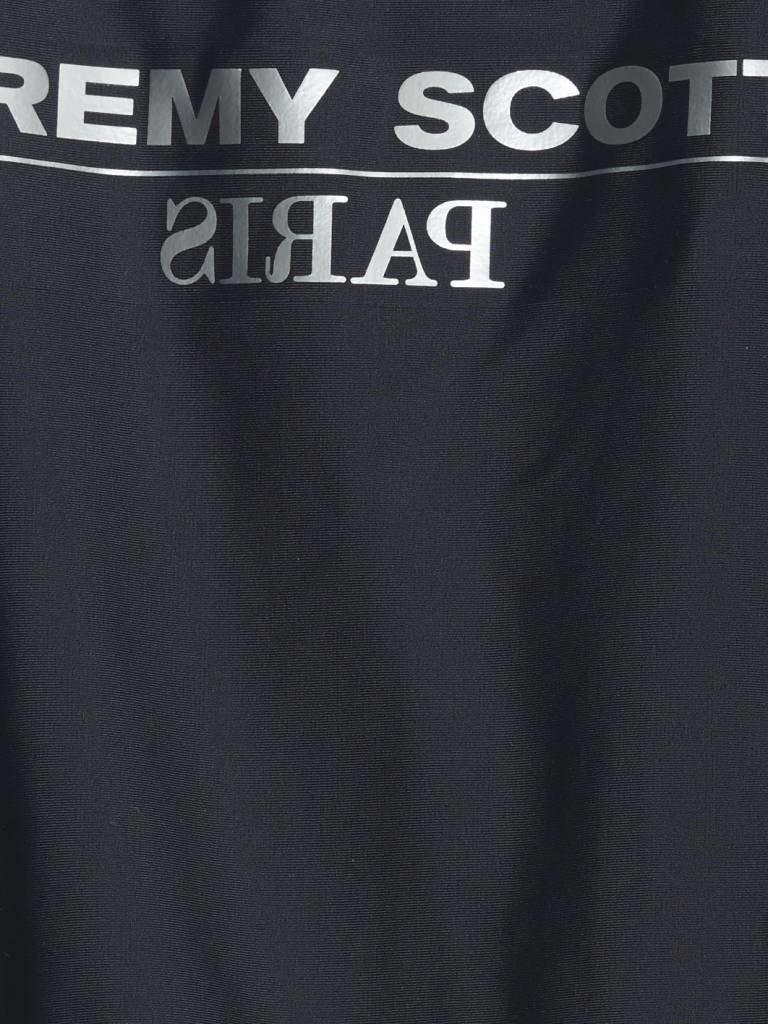 Jeremy Scott Jeremy Scott badpak met zilveren tekst zwart