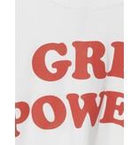 VLVT VLVT Girl Power T-Shirt mit Druck weiß rot