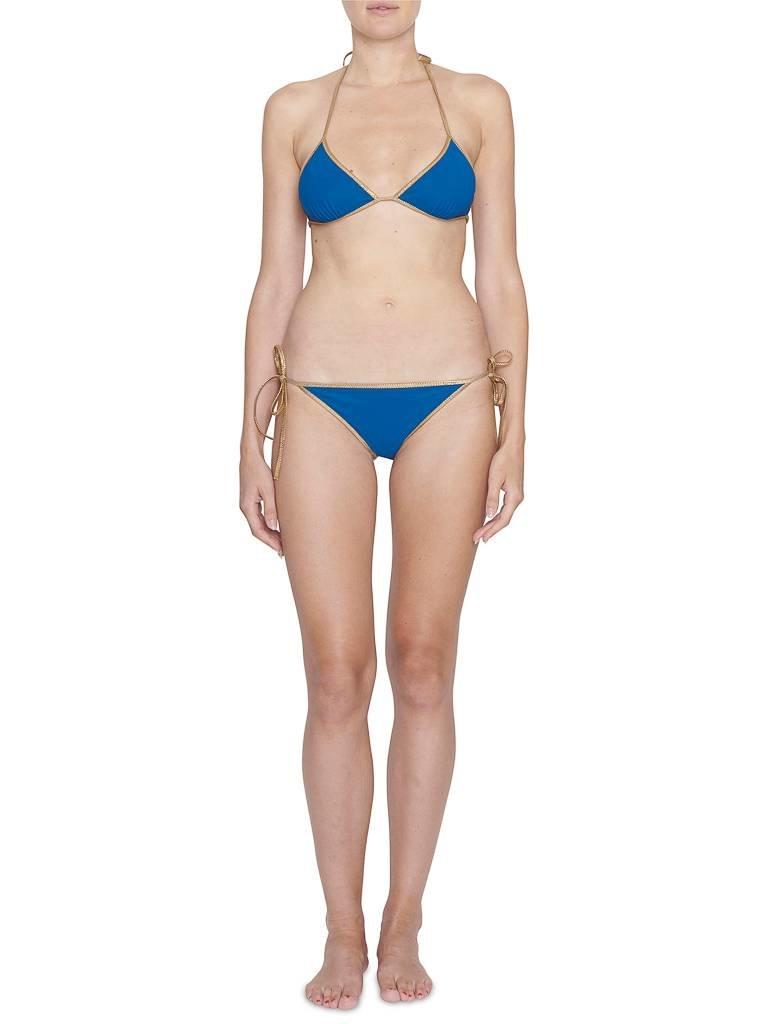 Tooshie Tooshie Hampton reversible triangle bikini  blauw