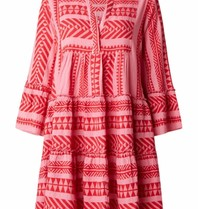 Devotion Devotion dress with pink red print
