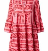 Devotion Kleid der Andacht mit rosarotem Druck