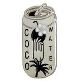 Godert.Me Godert.me Cocowater can pin zilver