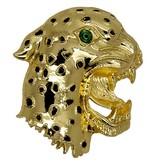 Godert.Me Godert.me Leopard Broch Gold