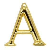 Godert.Me Godert.me A letter pin gold