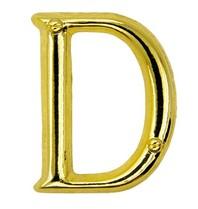 Godert.Me Godert.me D letter pin gold