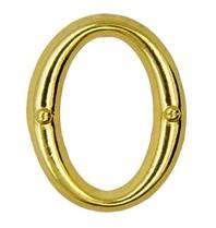 Godert.me O letter pin gold