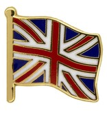 Godert.me Britain flag pin gold