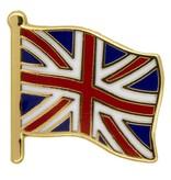 Godert.Me Godert.me Britain flag pin gold