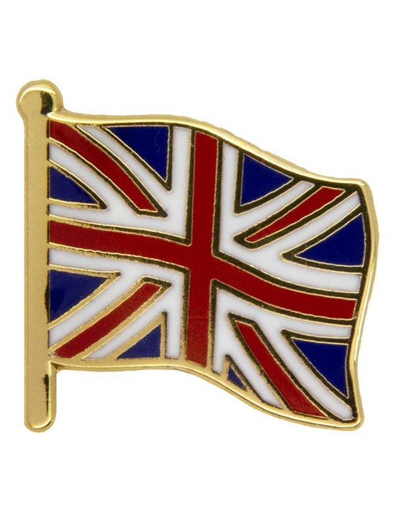 Godert.me Großbritannien Flagge Pin Gold