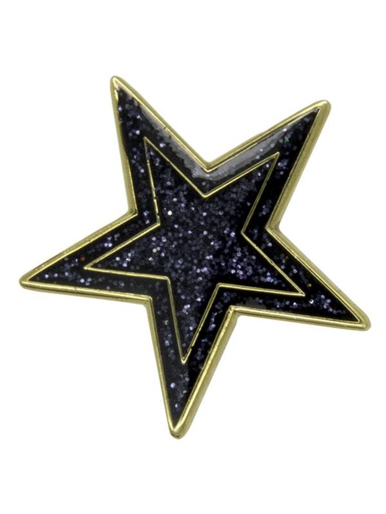 Godert.me Star Pin blau Gold