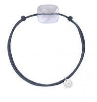 Morganne Bello Morganne Bello koord armband Calcedoine