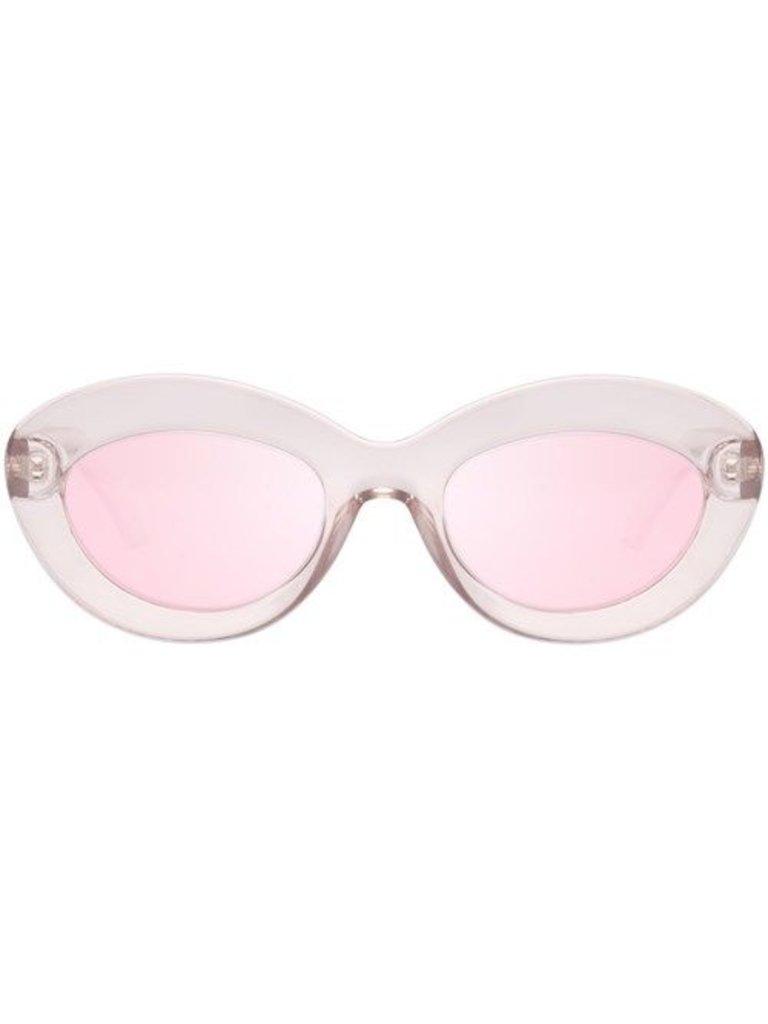 Le Specs Fluxus Sonnenbrille Shadow Pink