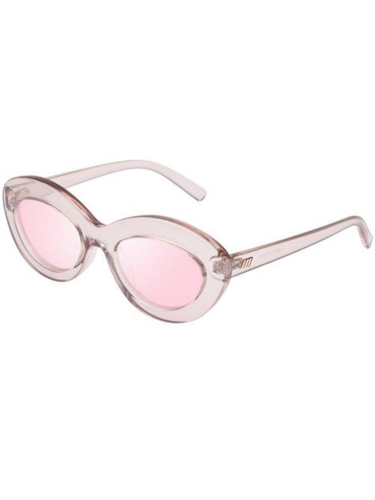 Le Specs Le Specs Fluxus Sonnenbrille Shadow Pink
