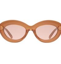 Le Specs Fluxus glasses Gold Shimmer