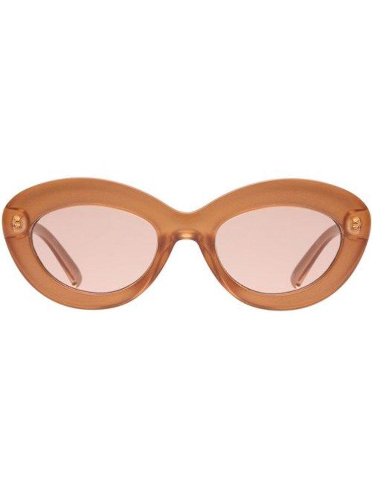 Le Specs Le Specs Fluxus Brille Gold Schimmer