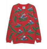 Zoe Karssen Zoe Karssen Island Fever sweater met print rood