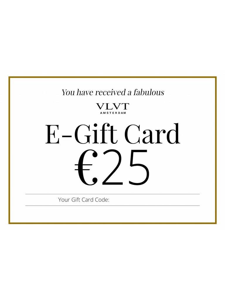 VLVT VLVT Online Geschenkkarte 25 €