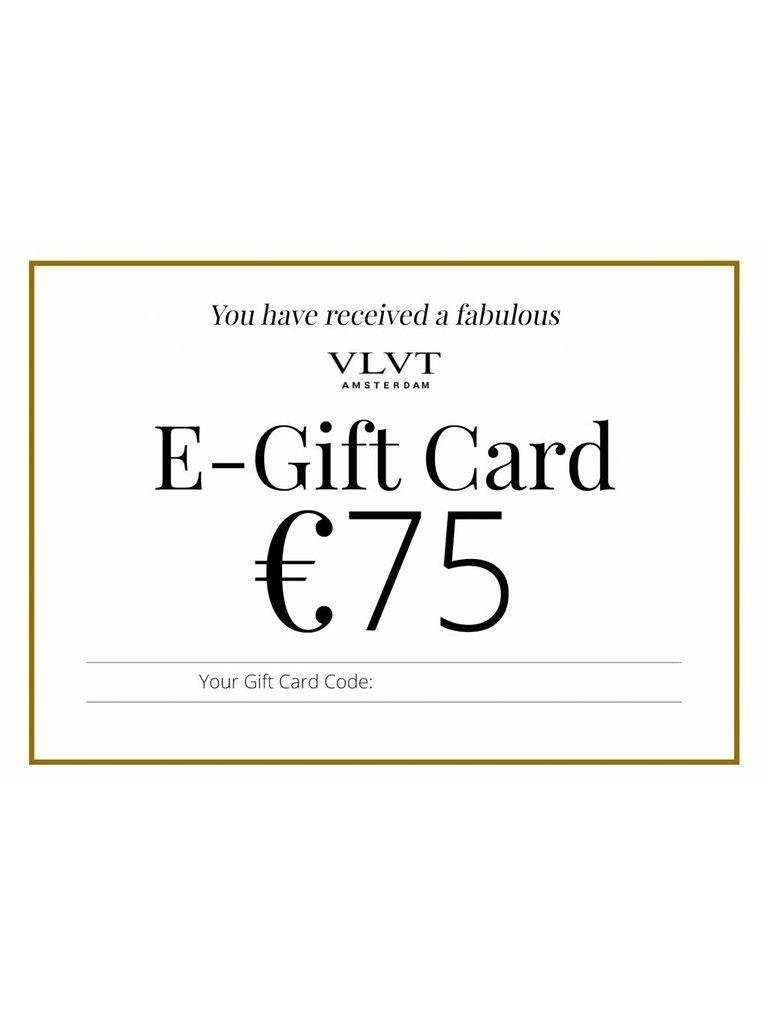 VLVT VLVT Online Geschenkkarte 75 €
