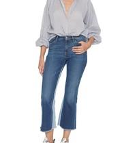 PT05 flared jeans met destroyed details