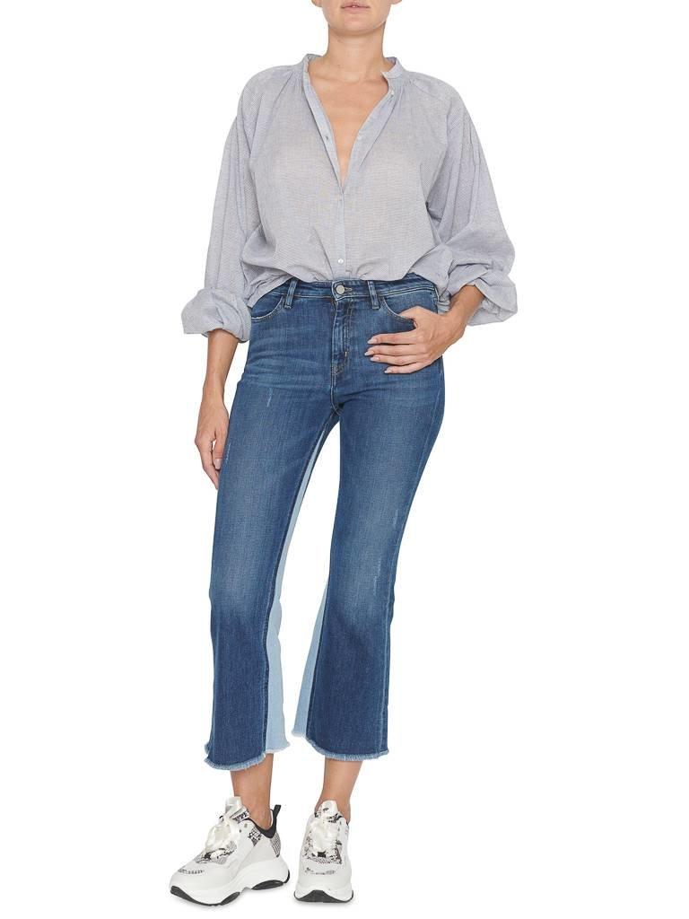 Pt05 PT05 flared jeans met destroyed details