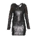 Forever Unique Forever Unique Razel dress with applications black