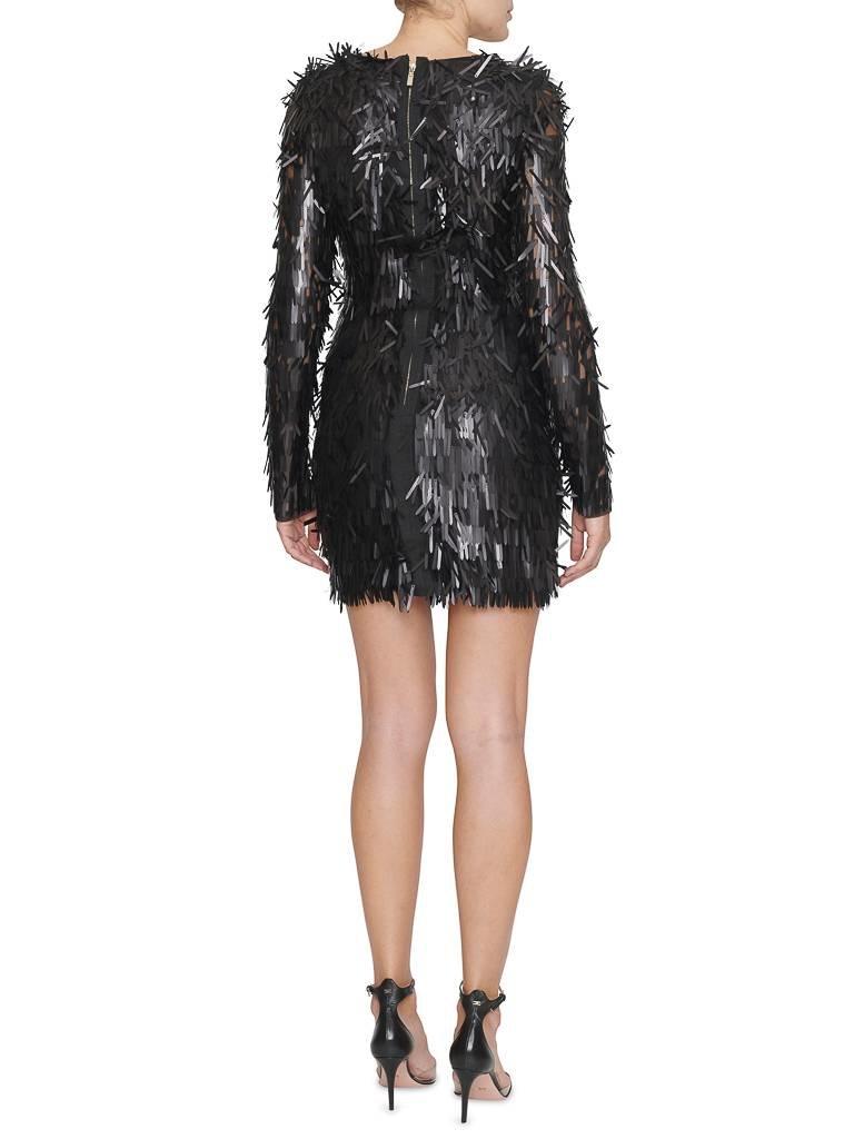 Forever Unique Forever Unique Razel jurk met applicaties zwart