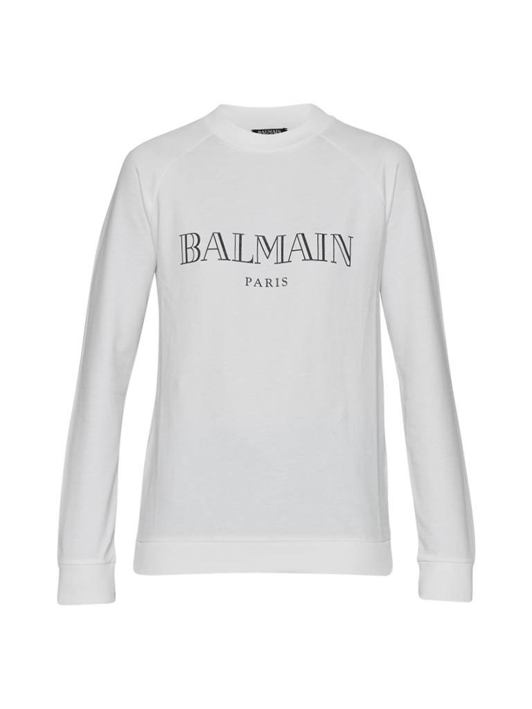 Balmain Balmain Sweater with logo white