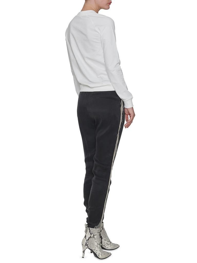 Balmain  Sweater met logo wit