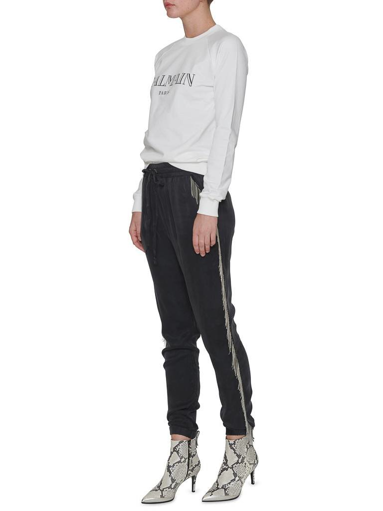 Balmain Balmain  Sweater met logo wit