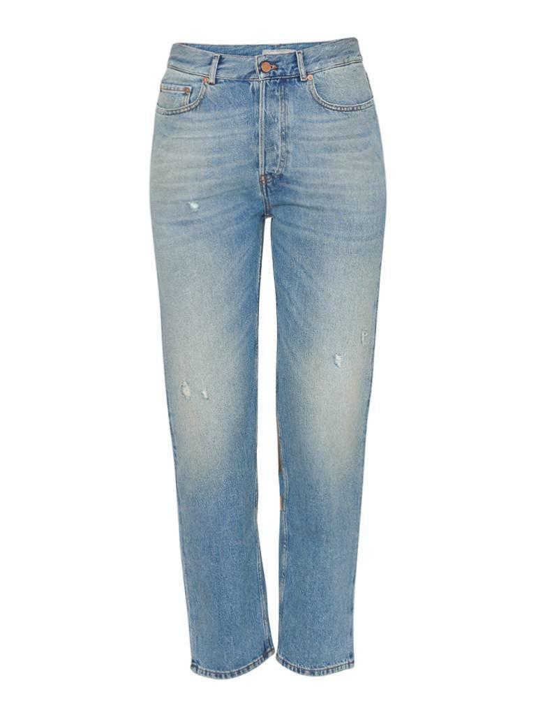 Pt05 PT05 Loose-Fit-Jeans mit Details in Rot und Gold