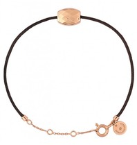 Morganne Bello Morganne Bello Pepite koord armband cushion rose goud